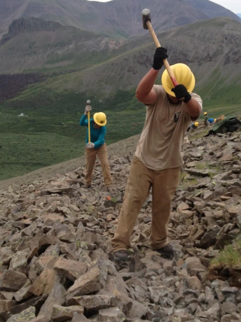 Crushing Rocks for blog post
