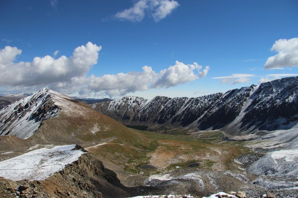 Snow at Grays and Torreys