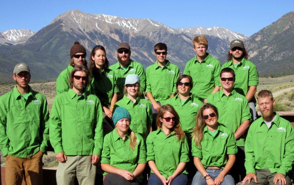 Seasonal Staff Photo at Twin Lakes--6.2012